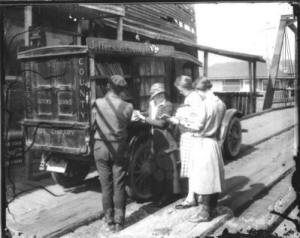 Jefferson County Free Library Bookmobile early 1900s